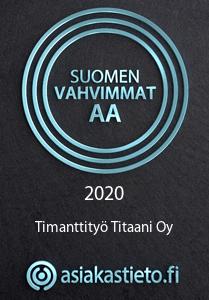 Suomen Vahvimmat AA Timanttityö Titaani Oy